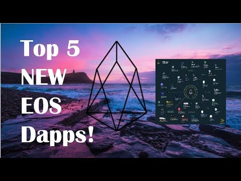 Top 5 NEW Dapps Coming To EOS 2018! (UPDATED)