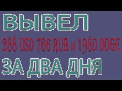 PROFIT – 288 USD | 766 Rub | 1980 DOGE за ДВА ДНЯ!