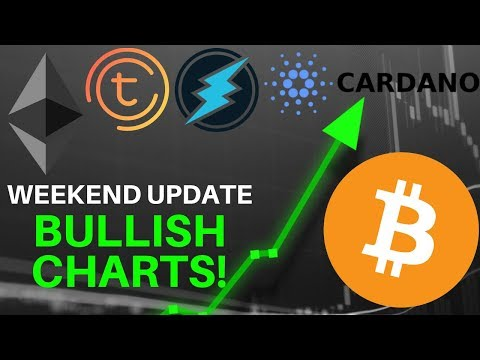 Weekend Update: BULLISH CHARTS! Bitcoin, Cardano, ETH, ETN, TOMO