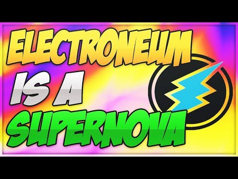 (ETN) ELECTRONEUM BIG NEWS! – ELECTRONEUM IS A SUPERNOVA – ELECTRONEUM WILL HIT $0.03?