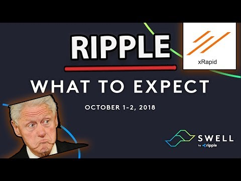 Ripple (XRP) Swell 2018 Kicks Off Tomorrow! What To Expect? (Official Ripple Announcement)