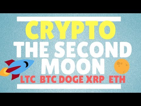 CRYPTO THE SECOND MOON (10/1/18) | BITCOIN, ETH, DOGE, LTC, XRP