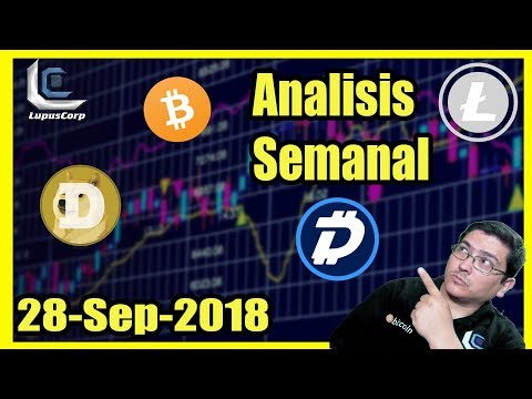 ? Analisis Semanal Bitcoin , DOGE (ojo aqui), digibyte , ethereum y litecoin Noticias y mas