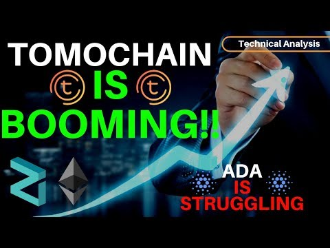 TomoChain Is BOOMING & ADA Is Struggling + MORE – Technical Analysis