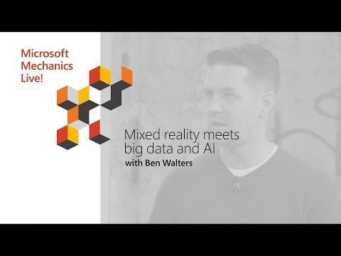 HoloLens meets IoT, Databricks and AI | Microsoft Ignite 2018
