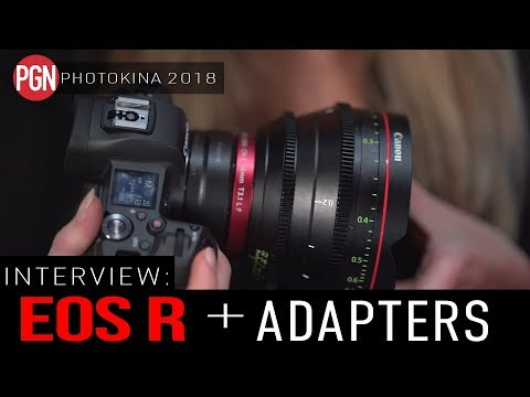 Interview: Canon EOS R Adapters – We find out more about the 3 different Canon EF to RF adapters
