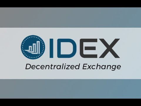 How to use IDEX exchange