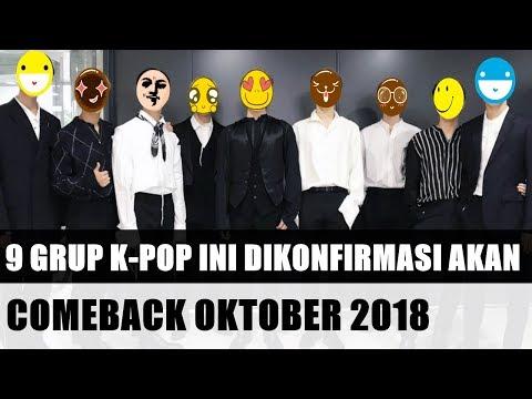 ADA FAVORITMU ..? Dari SM Hingga YG, 9 Grup K-Pop Ini Dikonfirmasi Akan Comeback Oktober 2018