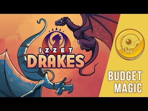 Budget Magic: $83 (33 tix) Izzet Drakes (Standard)