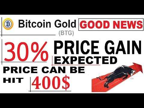 BITCOIN GOLD  28 % PRICE MOVING UP  | EXPECTED PRICE CAN BE HIT 400 $ #BTG #BCH