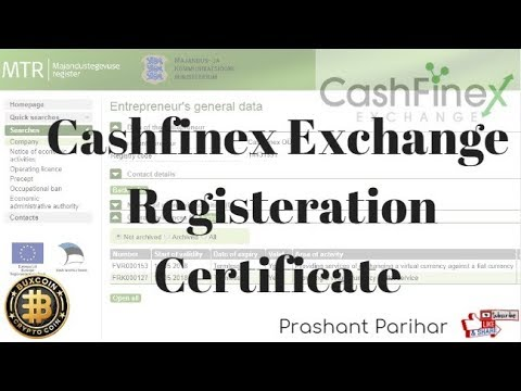 Cashfinex kaha Registered Hai yah Kaise Dekhe # Bux coin # Cryptocurrency