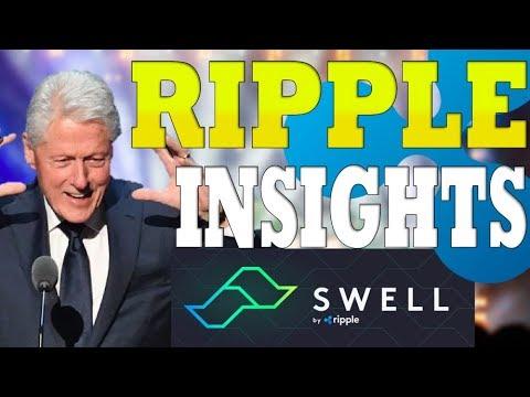 Pres. Clinton Bullish On XRP ? If SEC Doesn't Kill It,  xRapid LIVE! Multi-Hop Live, $XRP Ripple