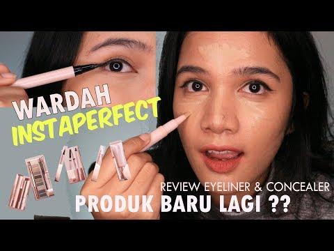 WARDAH INSTAPERFECT ADA YANG BARU LAGI?!    review eyeliner & concealer