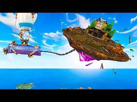 UÇAN ADA HAREKET EDİYOR! (Fortnite Battle Royale)