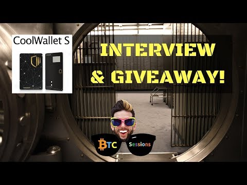 CoolWallet S – Cryptocurrency Wallet Giveaway & Interview