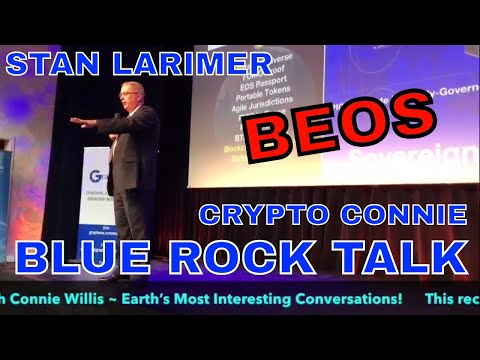 Crypto Connie EOS + BTS = BEOS  launch revealed in Amsterdam?