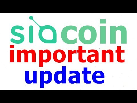 siacoin latest important update (HINDI) || Must Watch