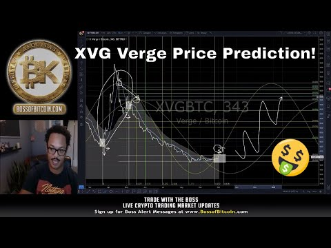 XVG Verge Coin Price Prediction & Bitcoin Giveaway ?Free Crypto Analysis & Cryptocurrency News