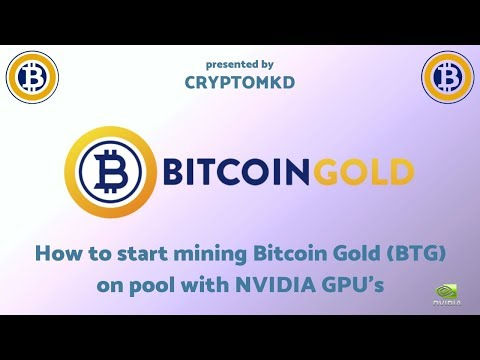GPU Mining – How to start mining Bitcoin Gold (BTG) on pool with NVIDIA GPU's