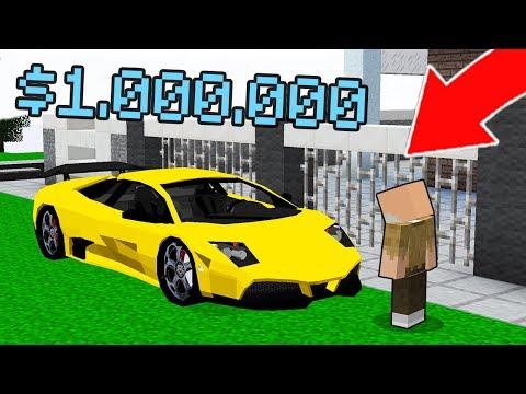 BAPAK GILE BELI MOBIL SPORT $1.000.000 LAMBORGHINI TERMAHAL YANG PERNAH ADA DI DUNIA MINECRAFT!