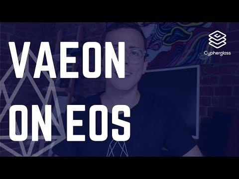 The Third EOS VC Funding Announcement: Vaeon