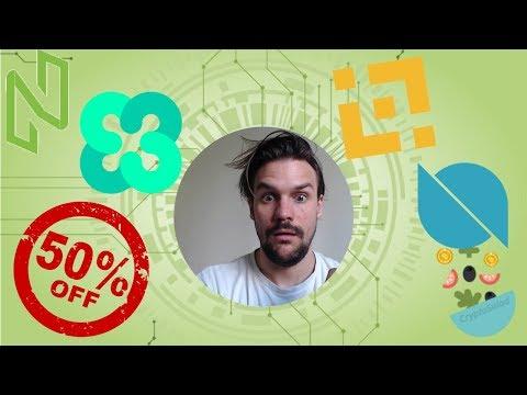 Saldi fino al 98%: Binance Coin, Ontology, Ethos, NULS