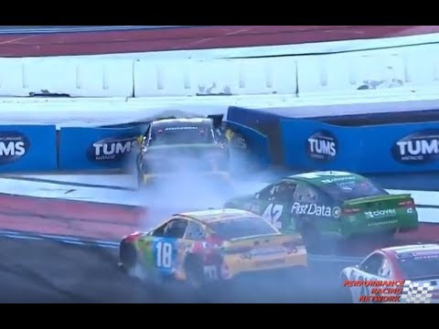 2018 Bank of America ROVAL 400 – Keselowski/Larson Crash – Call by PRN