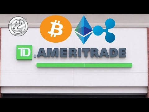 🔔 TD Ameritrade Eyeing Cryptocurrency Markets ?