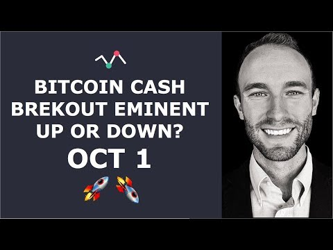 Bitcoin Cash – Breakout Eminent!! Are We Going Up or Down?