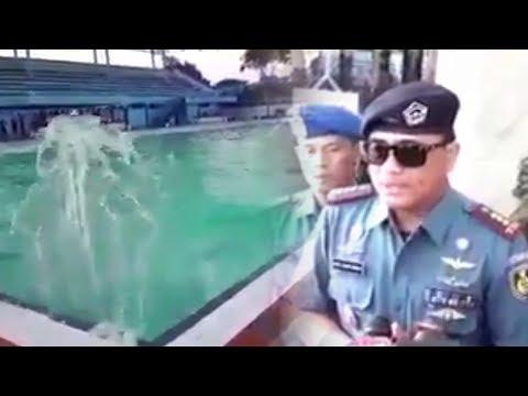Fenomena Aneh di Kolam Renang TNI AL, Mendadak Ada Gelombang Air Besar Ibarat di Lautan