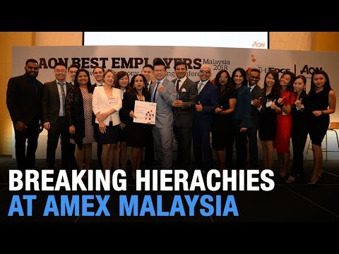NEWS: Amex M'sia is 'Best Employer' again