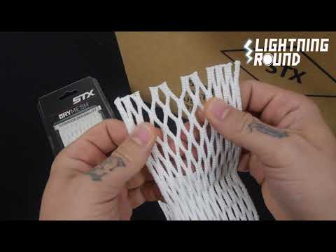 Case of 30 STX Dry Mesh Lacrosse Mesh Stringing Pieces – Lightning Round