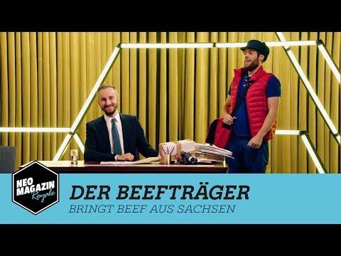 Der Beefträger bringt Beef aus Sachsen   NEO MAGAZIN ROYALE mit Jan Böhmermann – ZDFneo