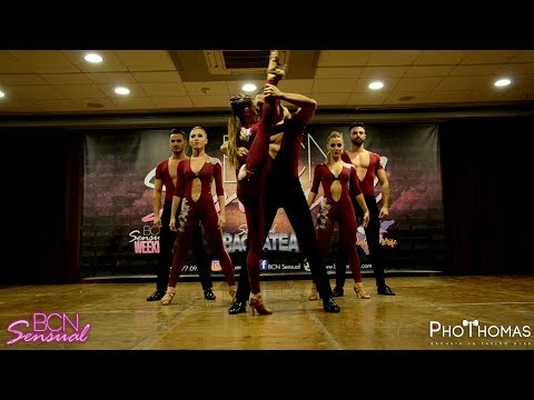 Extravagance Dance Company [Can't Hold Us] @ BCN Sensual Bachatea 2018