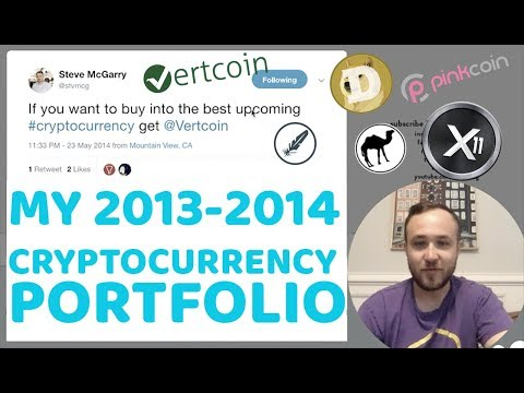 MY 2013-2014 CRYPTOCURRENCY PORTFOLIO | THROWBACK TWEETS