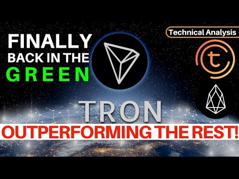 Tron is Outperforming The Rest! Finally a Green Day – Technical Analysis