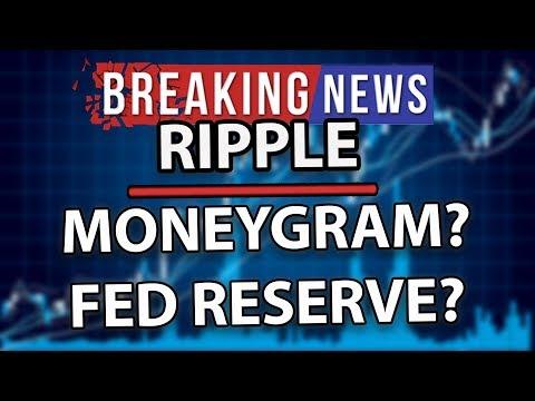 Breaking News! Ripple XRP is MoneyGram Using xRapid? Federal Reserve XRP & New MoneyTap App!