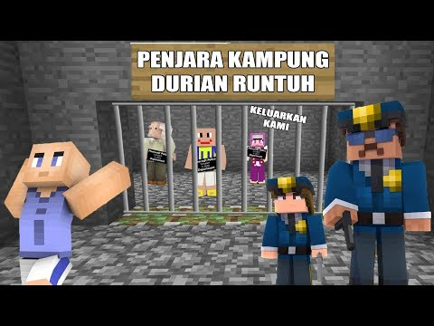 Ipiiiin Takut! Ada Penjara Baru Di Kampung Durian Runtuh