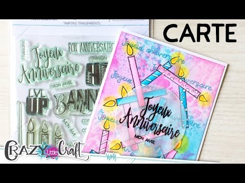 Carte anniversaire par Laety Sia