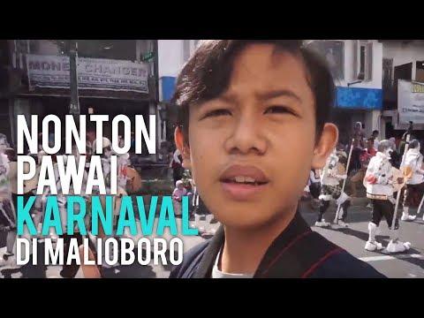 Nonton Pawai Karnaval Di Malioboro | ADA ZOMBIE GUYS!!