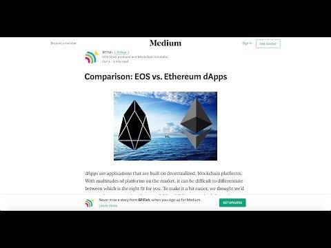 EOS VS Ethereum dApps, Tron Giveaway, BetDice Free Token, EOS Airdrop My Wish