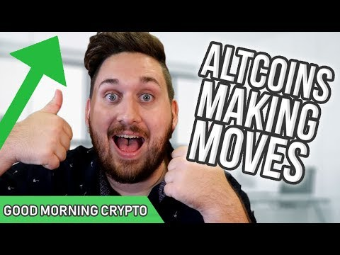 ALTCOINS MAKING MOVES // CryptoCurrency Market News // Crypto Altcoins