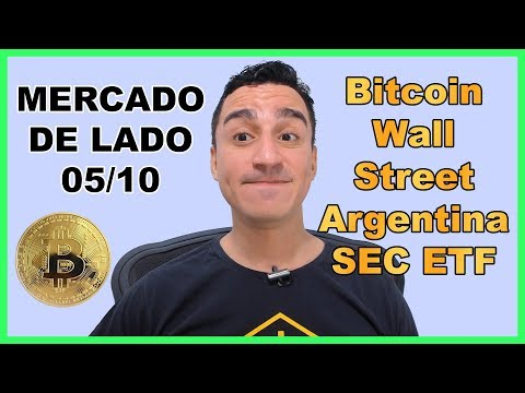 Mercado de Lado 05/10 – Bitcoin Salva Argentina – Wall Street às Escondidas – SEC ETF – Wized