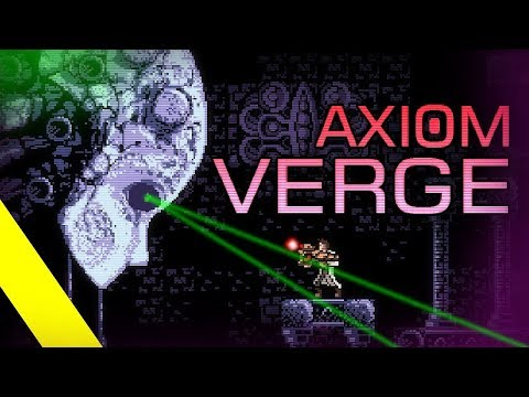 Axiom Verge прохождение [ hard ] 100% | Игра (PC steam, PS4, Xbox One, Wii U, Switch) 2015 Стрим RUS
