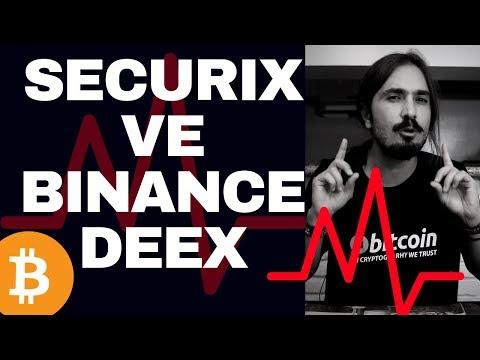 2019'DA MERKEZİ OLMAYAN BITCOIN – ALTCOIN BORSALARI GELİYOR! (Securix ve Binance DEEX İncelemesi)