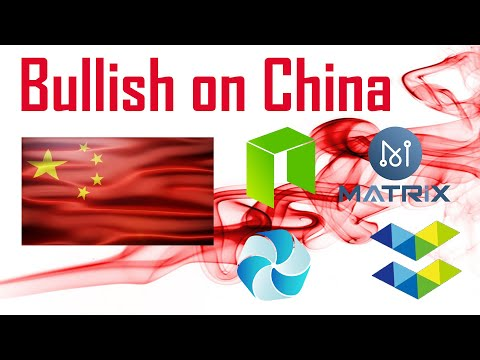 Bullish on China: $NEO $ELA $MAN