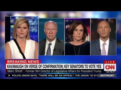 Kavanaugh on Verge of Confirmation Key Senators to Vote YES David Gergen, Marc Short and Joan Walsh