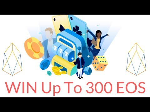 WIN UP TO 300 EOS in the EOS Bet Dice giveaway!