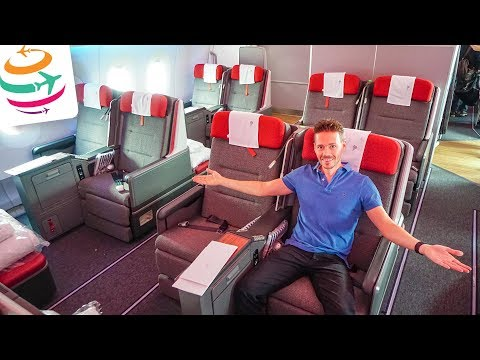 LATAM Airlines Business Class A350 BCN-GRU | GlobalTraveler.TV