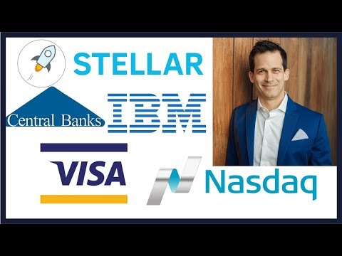 NASDAQ and Visa on Stellar Network but Central Bank cryptocurrency not coming soon. XLM looks good.